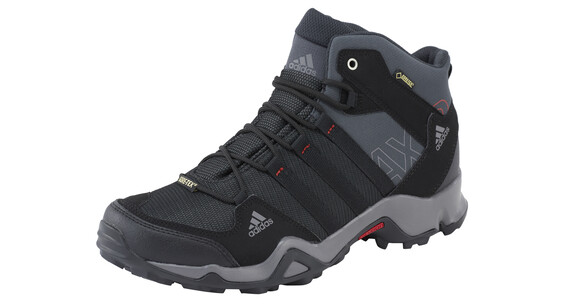 adidas AX2 Mid GTX Shoes Men dark shale/black/light scarlet